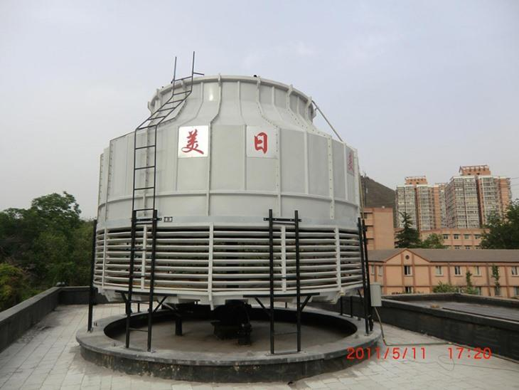 Circular cooling tower