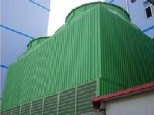 Non-filled spray cooling tower